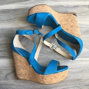 Jimmy Choo wedge sandals 7 new